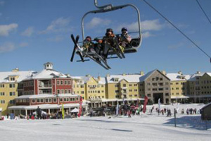 okemo ski resort ski in and out  hotels